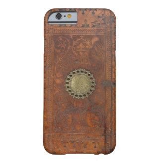 Ornate Leather with Engraved Brass Fittings Barely There iPhone 6 Case