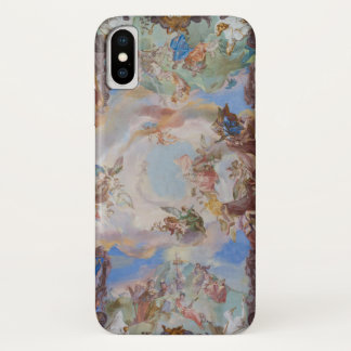 Ornate Library Ceiling Detail iPhone X Case
