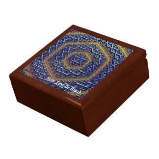 Ornate Metallic Magen David Gift Box
