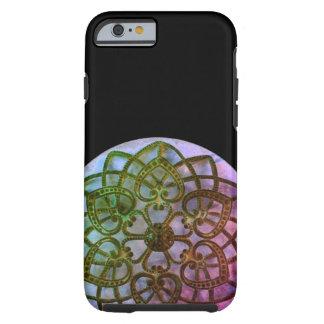 Ornate metalwork pretty filigree pattern tough iPhone 6 case