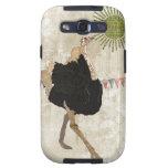 Ornate Ostrich Sunshine Case Samsung Galaxy S3 Cover