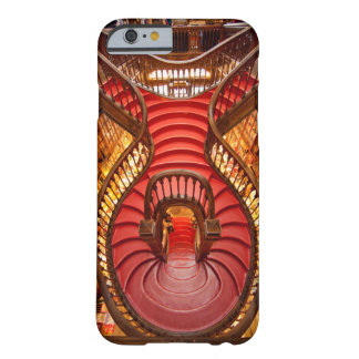 Ornate red stairway, Portugal Barely There iPhone 6 Case
