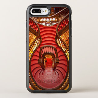 Ornate red stairway, Portugal OtterBox Symmetry iPhone 8 Plus/7 Plus Case