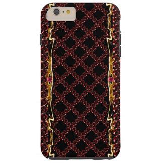 Ornate Ruby Trellis CricketDiane Goth Steampunk Tough iPhone 6 Plus Case