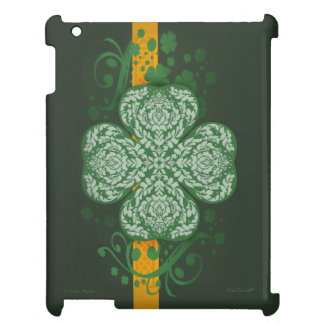 Ornate Shamrock iPad 2/3/4 Case Case For The iPad