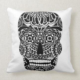 Ornate Skull Pillow