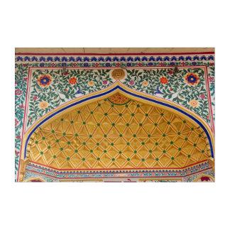 Ornate Tiled Palace Doorway Acrylic Print