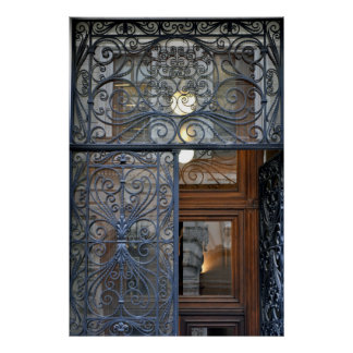 Ornate Viennese Door Poster