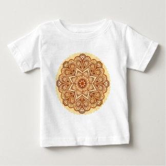 Ornate vintage circle napkin in mehndi style t shirt