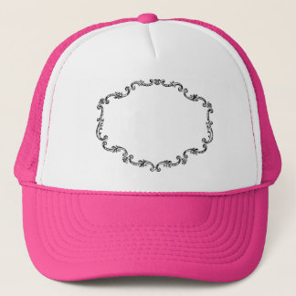 Ornate Vintage Frame Trucker Hat