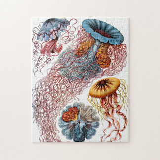 Ornate Vintage Jellyfish Puzzle