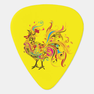 Ornate Wild Rooster Pick