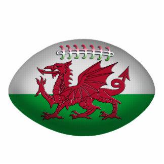 Ornement de drapeau du Pays de Galles de boule de  Ornement Photo Sculpture