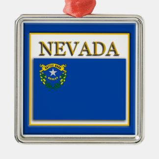 Ornement de Noël de drapeau d'état du Nevada