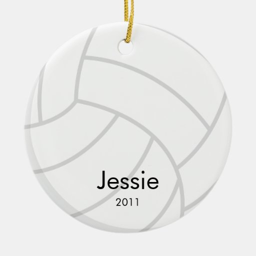Ornement de Noël de volleyball