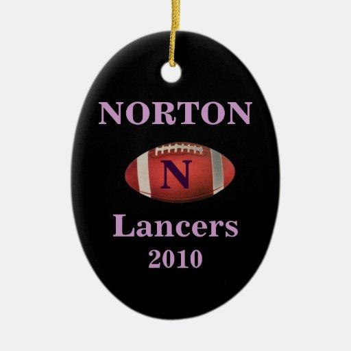 Ornement de Norton Lancers 2010