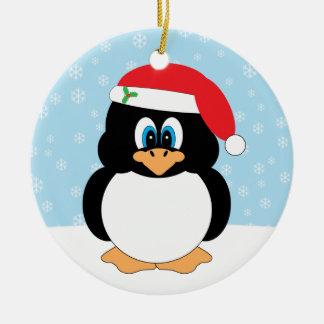 Ornement de pingouin de Joyeux Noël