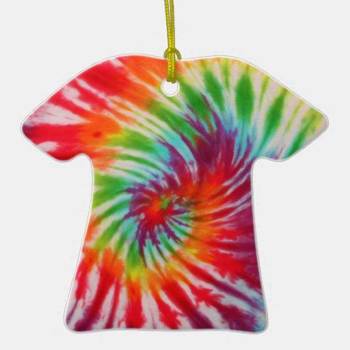 Ornement de T-shirt de colorant de cravate
