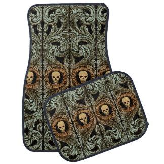 Ornement de vert sauge de Goth avec des tapis de Tapis De Voiture