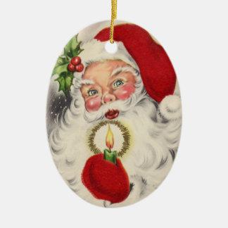 Ornement victorien de Noël de Père Noël