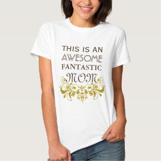 Ornements d'or vintages I + votre backgr. et texte T-shirts