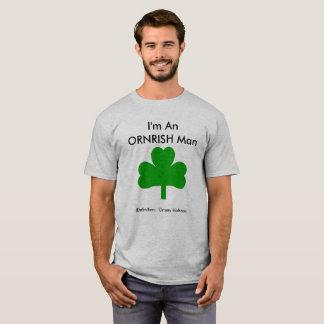 Ornery Irishman Mens T-Shirt Shamrock