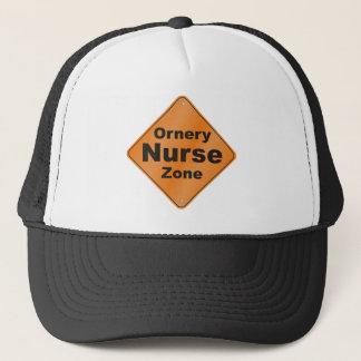 Ornery Nurse Zone Trucker Hat