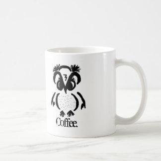 """Ornery Owl""© needs coffee NOW Coffee Mug"