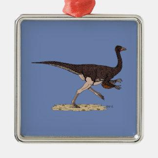 Ornithomimus Metal Ornament