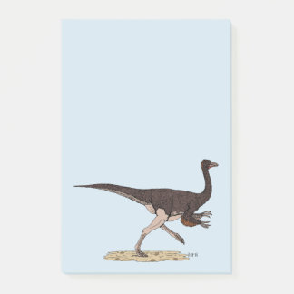 Ornithomimus Post-it Notes