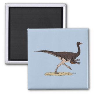 Ornithomimus Square Magnet