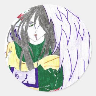 Orochimaru, the god snake classic round sticker