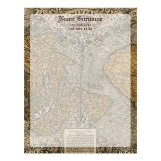 Oronce Fine 1531 Map Letterhead