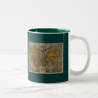 Oronce Finé Historic Old World Map Coffee Mug