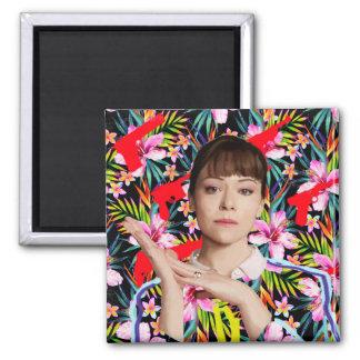 Orphan Black   Alison - Floral Pattern Magnet