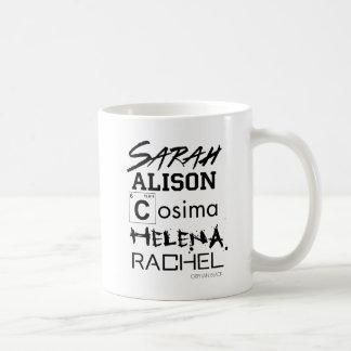 Orphan Black   Clone Club Sisters Coffee Mug