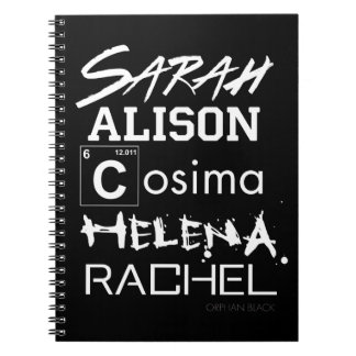Orphan Black | Clone Club Sisters Notebook
