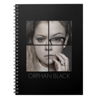 Orphan Black | Clone Collage Spiral Notebook