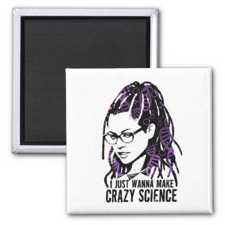 Orphan Black   Cosima - Crazy Science Magnet