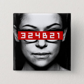 Orphan Black | Cosima - Tag Number 2 Inch Square Button