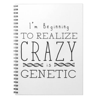 Orphan Black | Crazy is Genetic Notebook