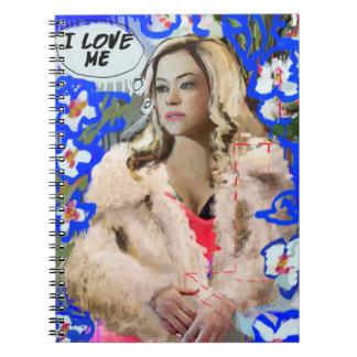 Orphan Black   Krystal Goderitch - Floral Sketch Notebook