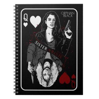 Orphan Black | Sarah & Helena - Sister/Sestra Notebook