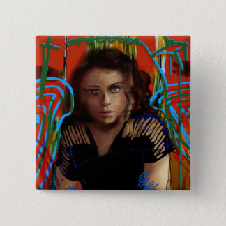 Orphan Black | Tatiana Maslany - Character Collage 2 Inch Square Button