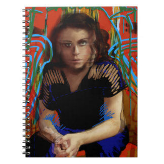 Orphan Black | Tatiana Maslany - Character Collage Spiral Notebook