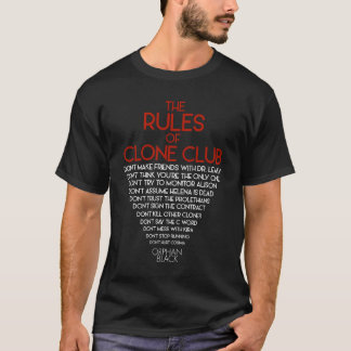 Orphan Black | The Rules of Clone Club T-Shirt