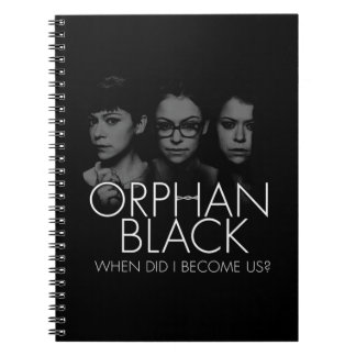Orphan Black | Three Sestras Silhouette Notebook