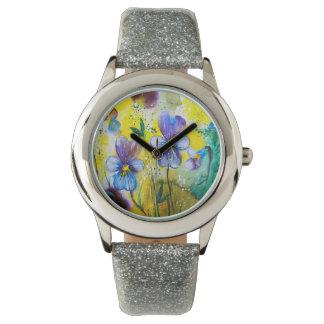 Orphan Wildflowers Wristwatch