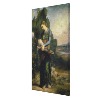 Orpheus 1865 stretched canvas print