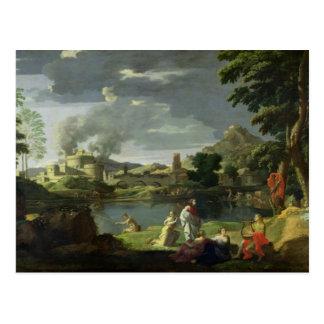 Orpheus and Eurydice 2 Postcard